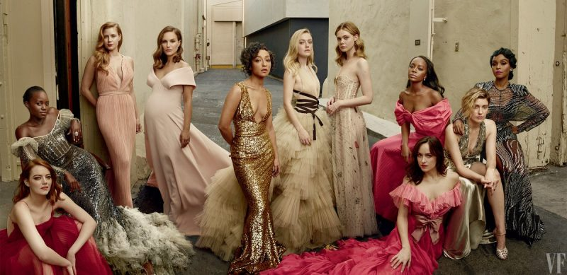 Vanity Fair's 2017 Hollywood Issue features the hottest celebrities