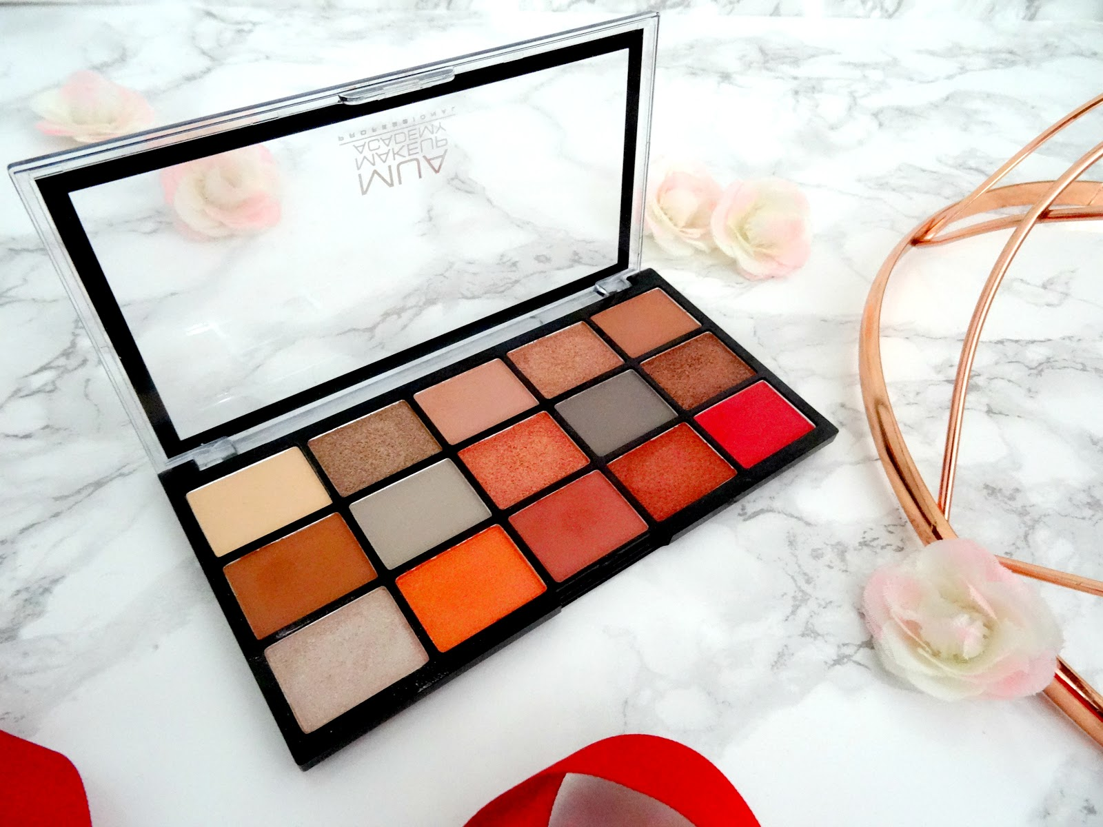 MUA Fire Vixen Eyeshadow Palette Review