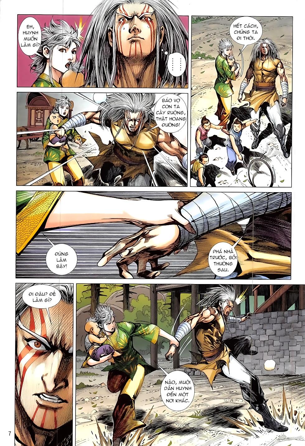 Thiết Tướng Tung Hoành – Chap 218