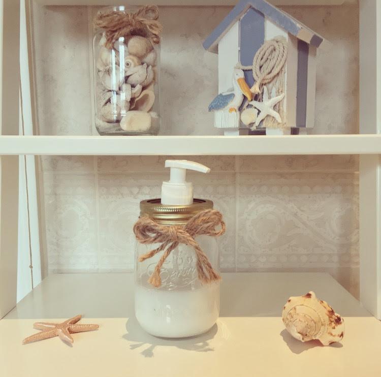 DIY Mason Jar Soap Dispenser tutorial costing less than £2