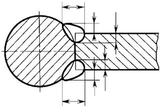 ГОСТ 2.312-72 ЕСКД. Условные изображения и обозначения швов сварных соединений. Черт. 4