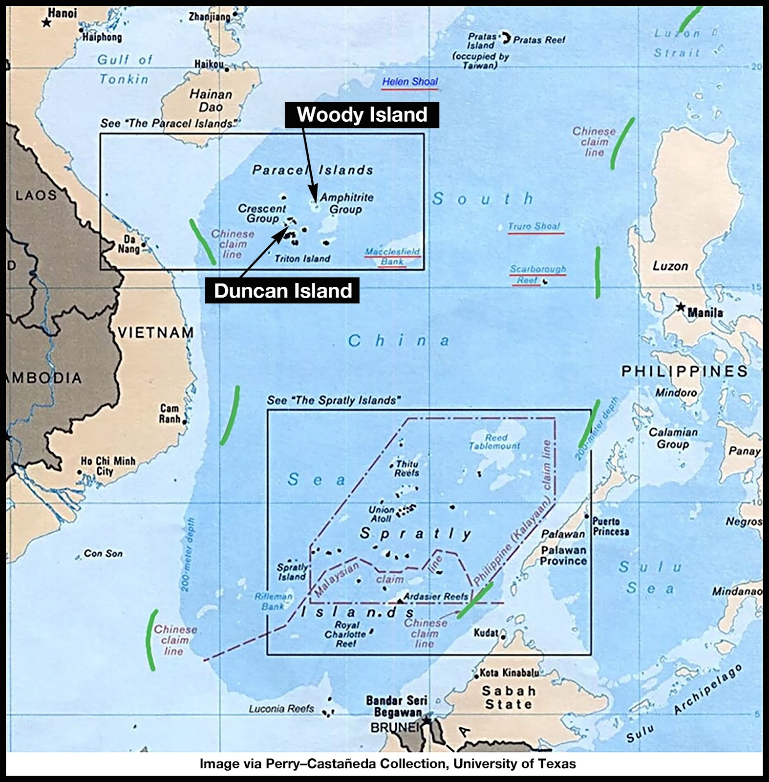 China Military Island South China Sea