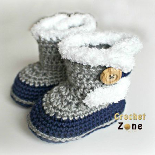 Fuzzy Booties - Free Pattern