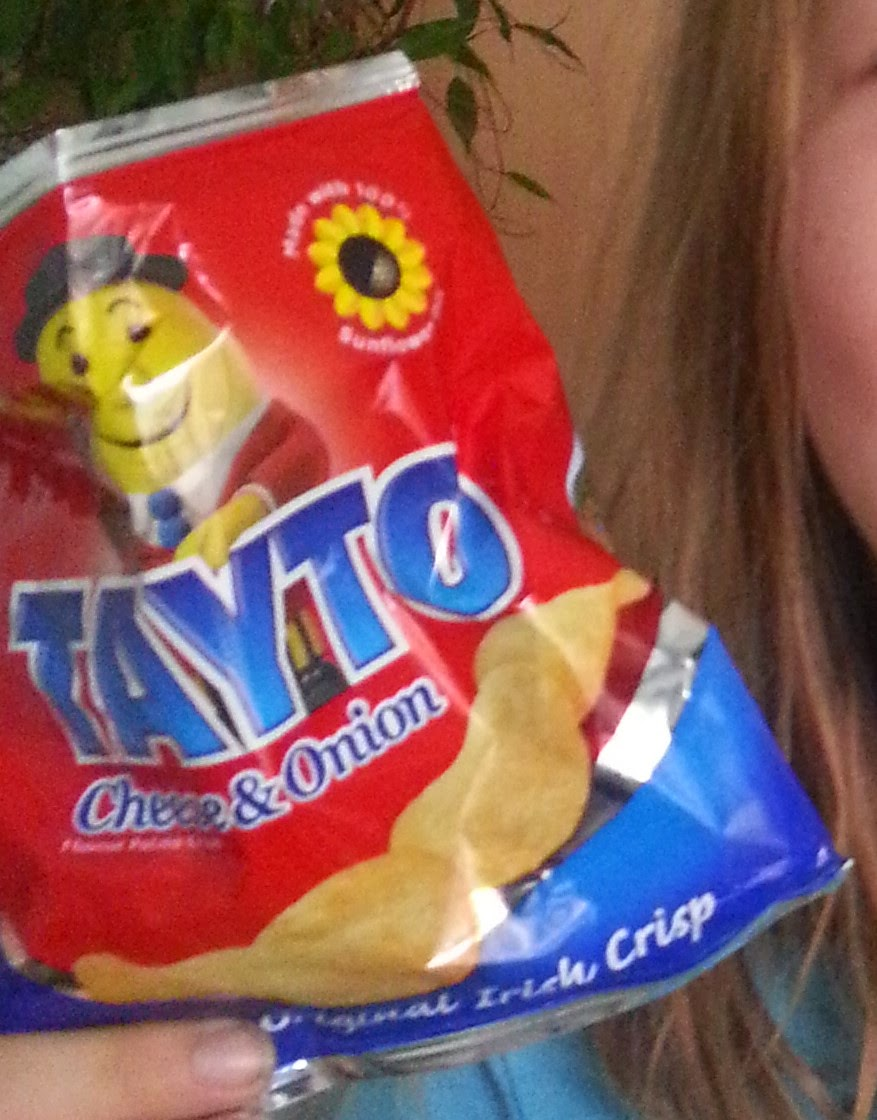 Picture of Tayto crisps from Ireland