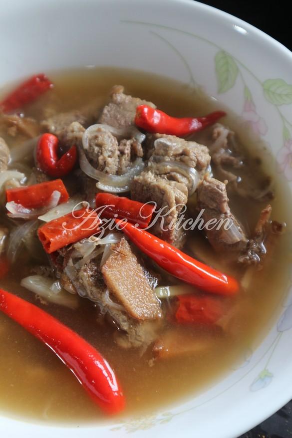 Singgang Daging Kelantan Azie Kitchen