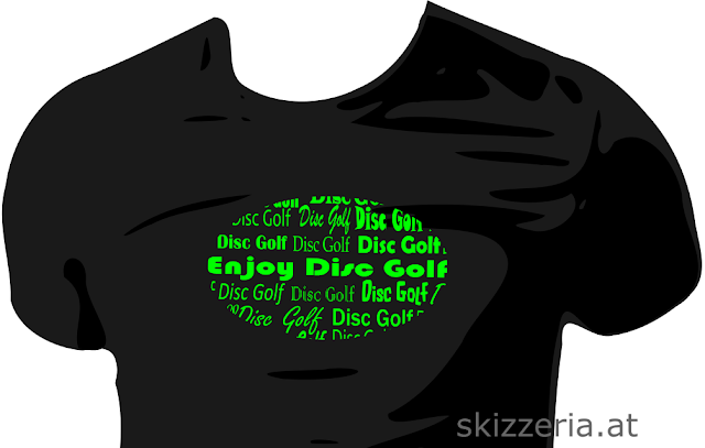 Enjoy Disc Golf Shirtdesign