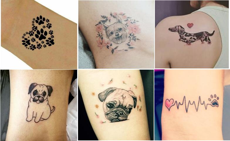 Tatuagem De Patinha De Cachorro