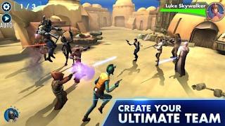 Star Wars Galaxy of Heroes APK Mod Terbaru