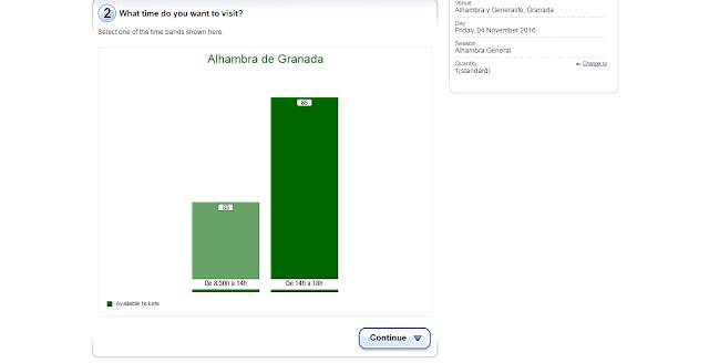 Jak zarezerwować bilet na Alhambrę online