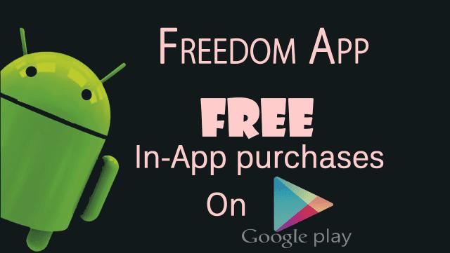 تحميل برنامج freedom للاندرويد اخر اصدار