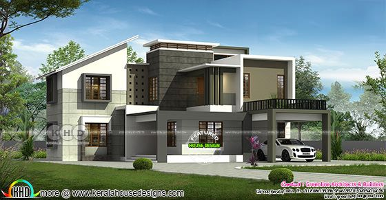 4 bedroom modern contemporary house