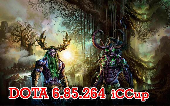DotA 6.85.264 (Último mapa para jugar iCCup)