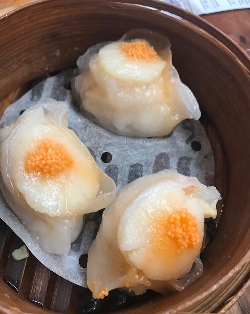 Secret Kitchen Express, Doncaster, scallop dumplings