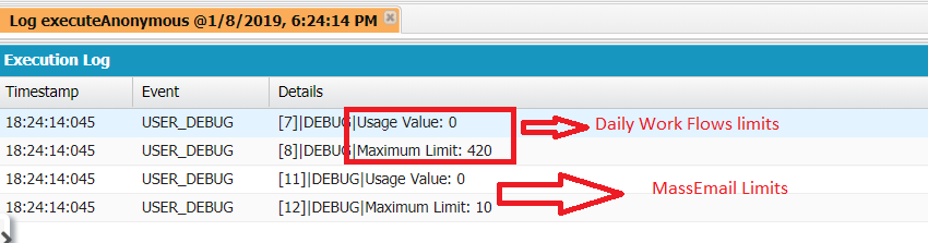 How to check Org Limits values using Apex? - Salesforce Code