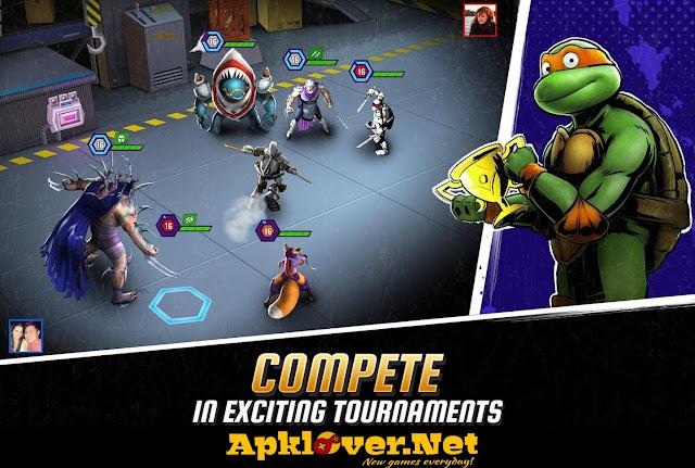 Ninja Turtles Legends MOD APK Unlimited Money