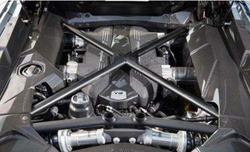 2017 Lamborghini Veneno Roadster Interior Design Reviews