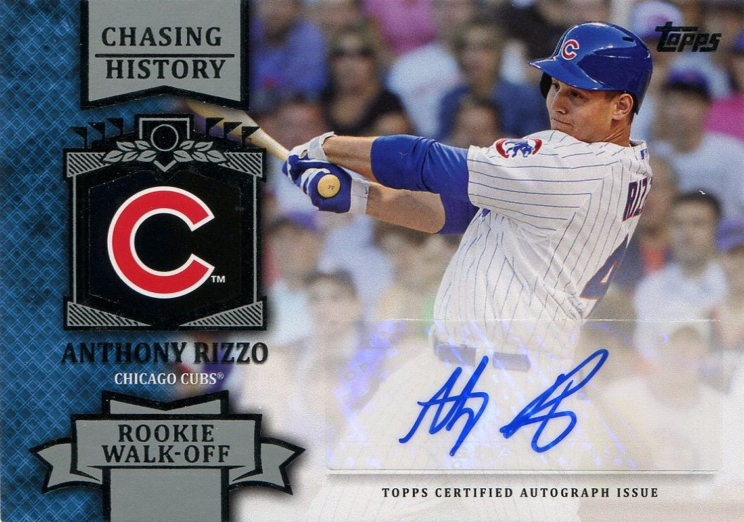 best cheap 03c78 942d2 Once a Cub: 2013 Anthony Rizzo Chasing History