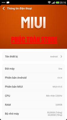 Tiếng Việt OnePlus One A0001 alt
