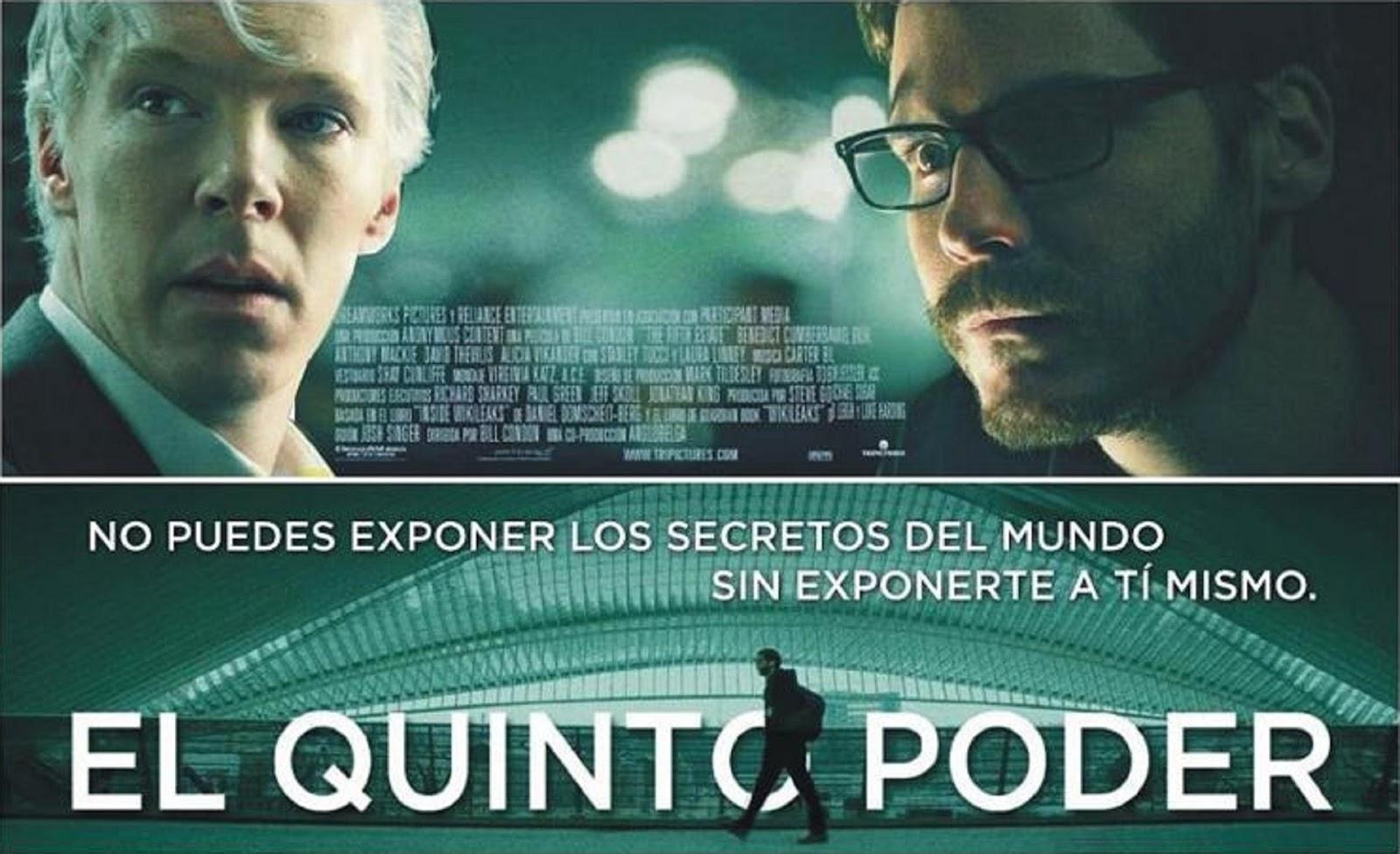 El Quinto Poder Poster Película Español