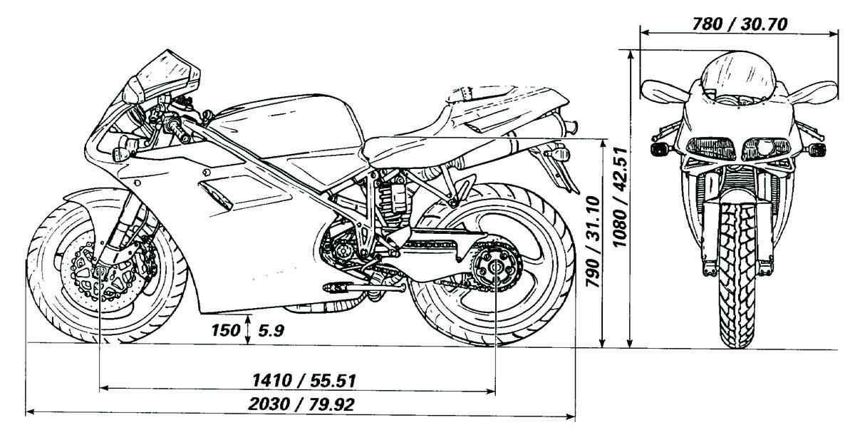 Avg Motorcycle Lift Dimensions : Oddbike ducati desmoquattro superbike faq