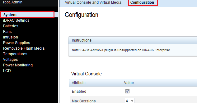 Enterprise Servers and Networking: Dell iDRAC 6 Virtual Console
