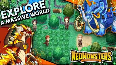Neo Monsters Mod Apk Download Monster Capture RPG