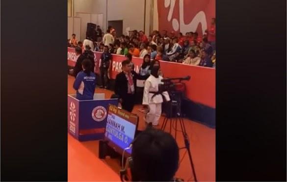 Video Detik-detik Saat Miftahul Jannah Menolak Buka Jilbab