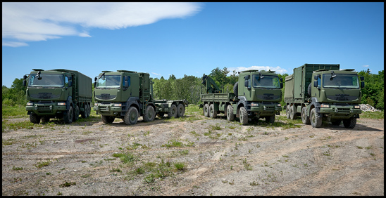 Mack Defense MSVS trucks