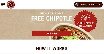 Chipotle Restaurant Loyalty Program