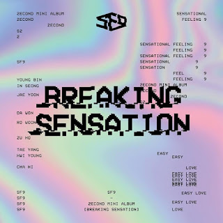 SF9 - Breaking Sensation Albümü