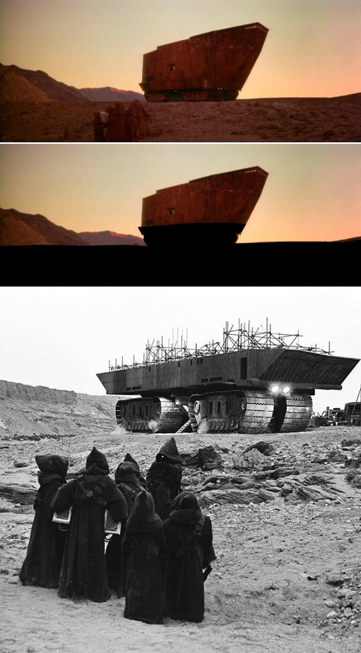 Strange tales matte paintings from the star wars for Matte painting