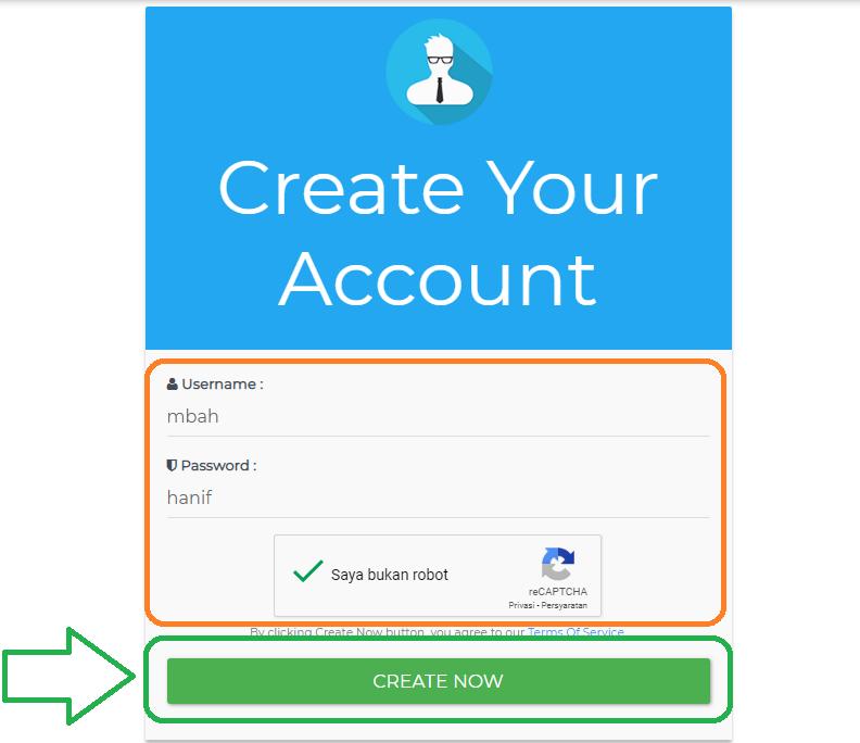 Membuat SSH internet gratis JagoanSSH