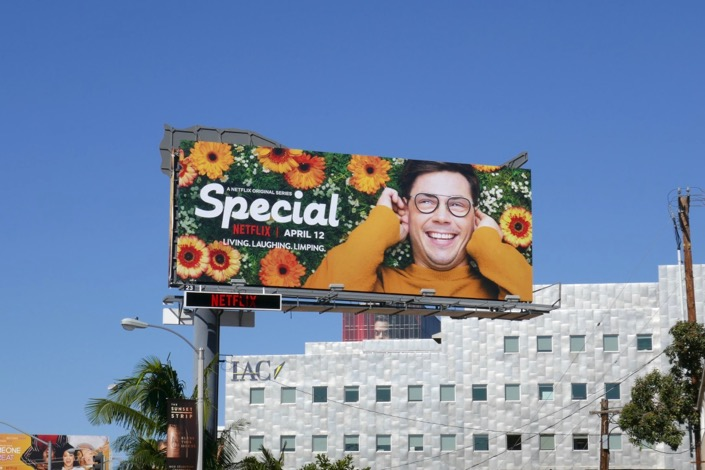 Special series launch billboard