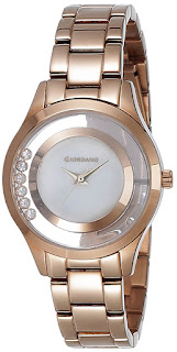 Giordano Analog White Dial Women's Watch