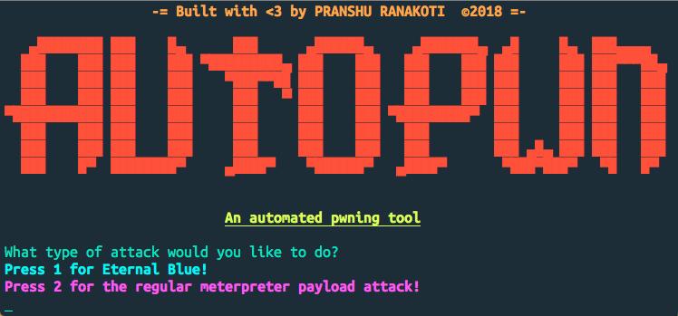 Autopwn v2 0 - A Simple Bash Based Metasploit Automation Tool