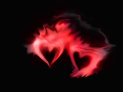 Два сердца в сумеречной дымке