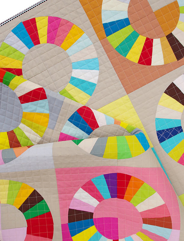 Color Wheel Quilt & Tutorial | Red Pepper Quilts