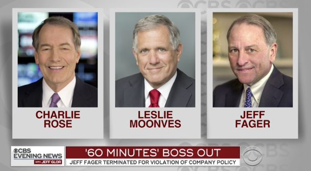 "Fired ""60 Minutes"" boss warned CBS News reporter: ""There are people who've lost their jobs trying to harm me"""