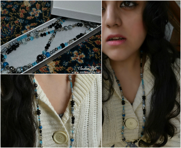 Sky Necklace by Kerry's Jewllery