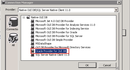 BI Explored: Connecting to ORACLE database from SSIS