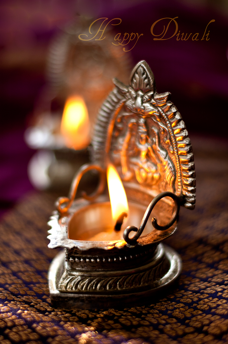 Diwali lamp, simi jois