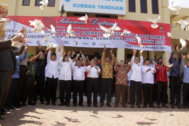 KIP Umumkan Harta Kekayaan 6 Calon Gubernur Aceh Periode 2017-2022