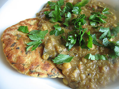 spicy mixed dal with spices