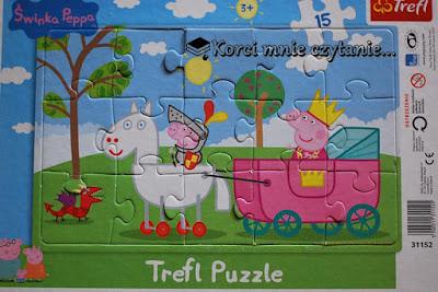 Trefl Puzzle. Świnka Peppa