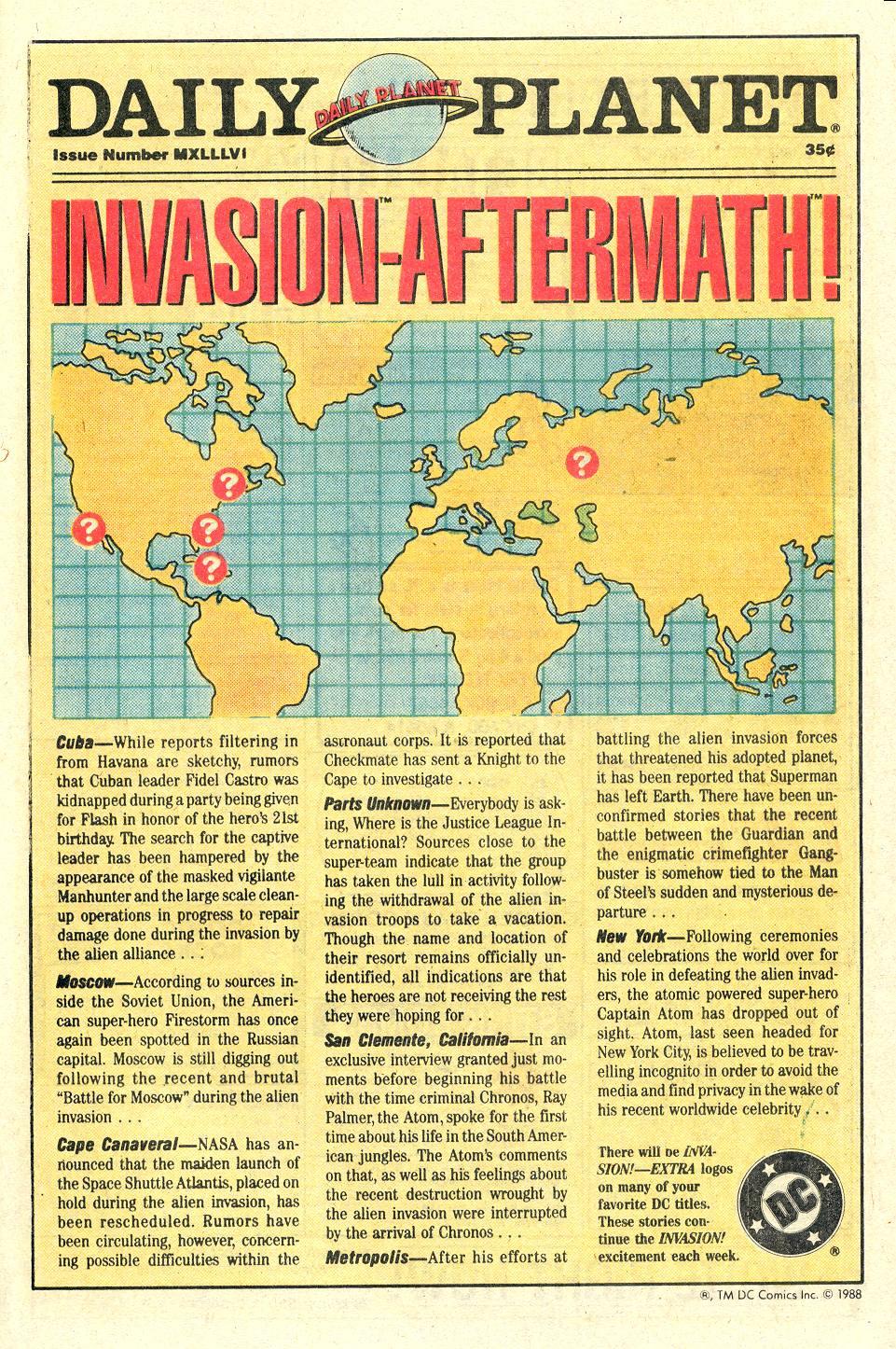 Read online Secret Origins (1986) comic -  Issue #36 - 38