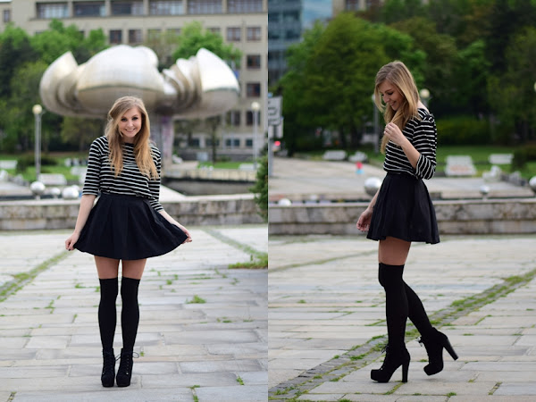 |OUTFIT| Black & White