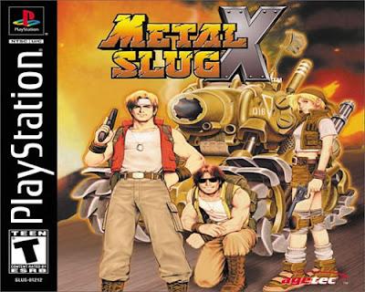 Download Game Metal Slug X PS 1 Iso [31MB] Beserta Emulatornya