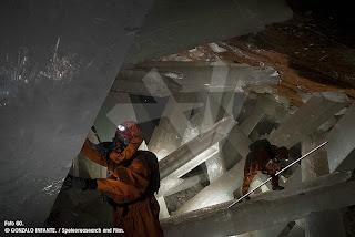Auténtico bosque de cristales.