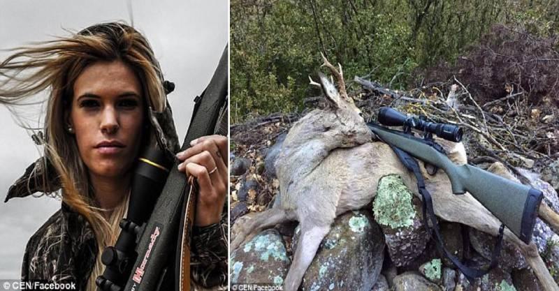 27χρονη κυνηγός έβαλε τέλος στη ζωή,μετά από απειλές στο διαδίκτυο!