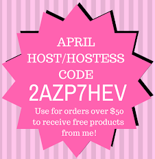 Host/Hostess Code for April